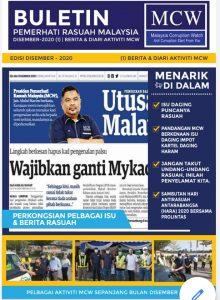 BULETIN PEMERHATI RASUAH MALAYSIA